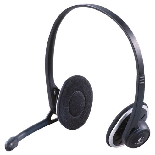 Logitech H330 Stereo USB Overhead PC Headset & Microphone