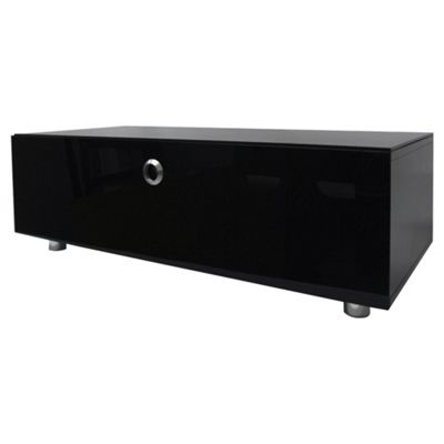 MDA Designs ZIN422510/BKI Cubic 1000 Black TV Cabinet with BEAMTHRU
