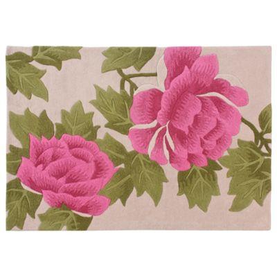 Tesco Rugs Rose Rug Pink 120x170cm