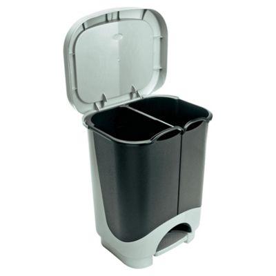24L duo recycling bin