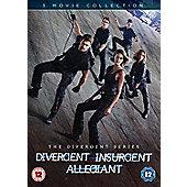 Divergent/Insurgent/Allegiant DVD