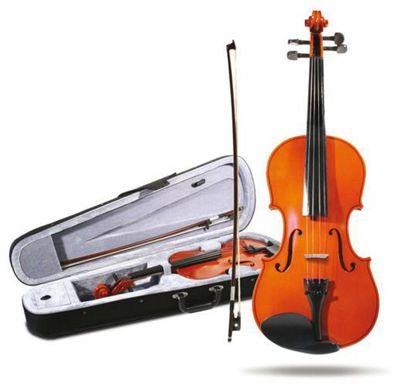 Windsor 1/4 Size Student Violin: Lightweight Zipped Case With Shoulder Strap Mi-1013