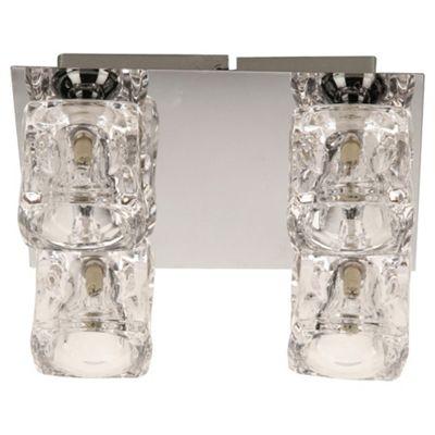 Tesco Lighting Ice Cube Flush Ceiling Fitting