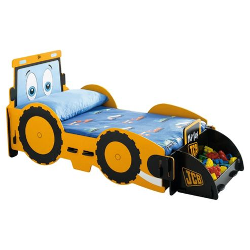 Bed frame with storage - Buy My 1st Jcb Digger Junior Bed Frame From Our Single Beds Range