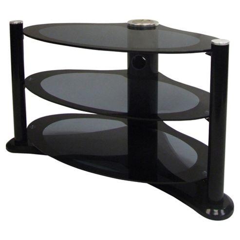 MODUS - Unique Shape Black Plasma / LCD 37 inch TV Stand