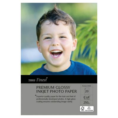 Tesco Finest 6X4 Photo Paper - 20 Sheets