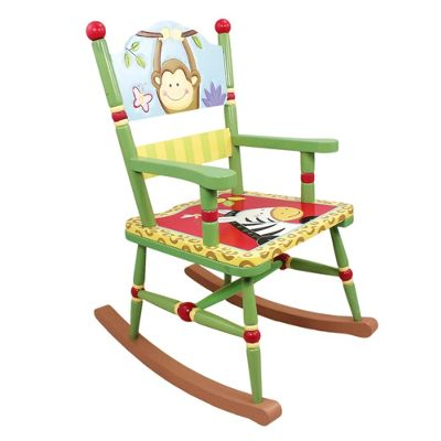 Fantasy Fields Sunny Safari Rocking Chair