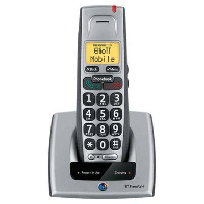 BT Freestyle 710 single cordless Telephone