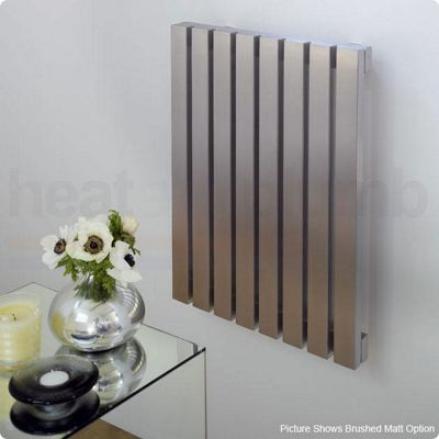 Aeon Ararat Stainless Steel Designer Radiator 500mm High x 490mm Wide