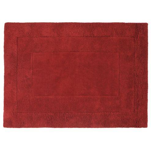 Tesco Rugs Tiered Wool Rug, Red 120x170cm