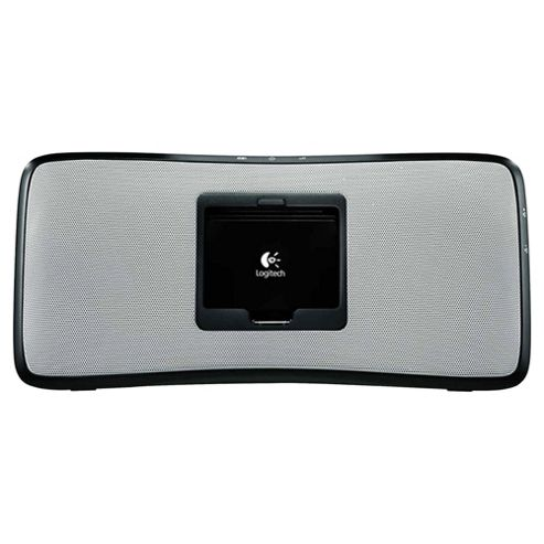 Logitech S315i Rechargeable Portable Speaker for iPhone & iPod - Silver