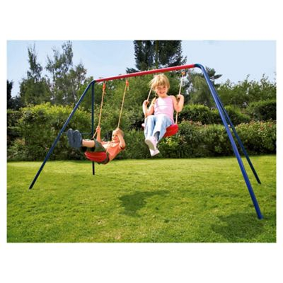 Tesco Double Swing Set