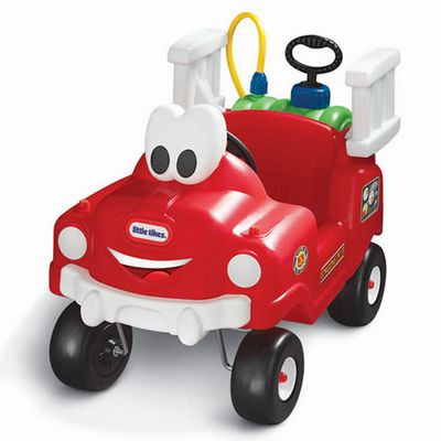 Little Tikes Spray & Rescue Fire Truck Ride-On Car
