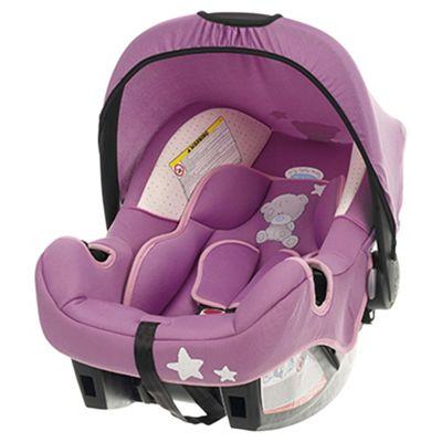 Obaby Group 0+ Car Seat - Tiny Tatty Teddy Dusky Pink