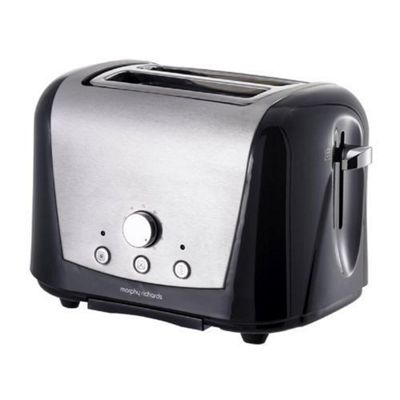 Morphy Richards Accents Country 44262 2 Slice Toaster - Black