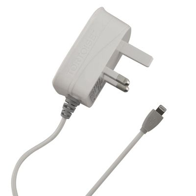 """Tortoiseâ""""¢ Ultra Mains Charger Suitable for iPhone 5S/5C/5 White"""