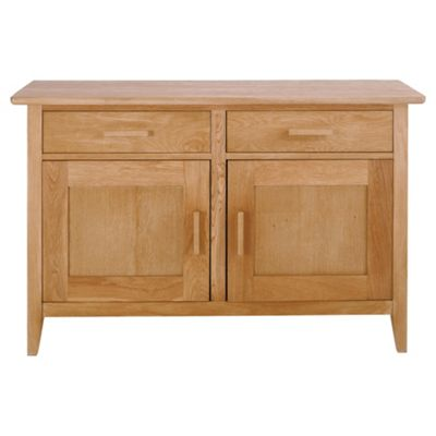 Chesham Sideboard with 2 Doors and 2 Drawers, Oak