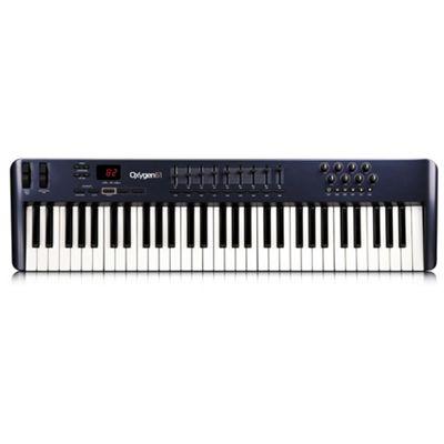 M-Audio Oxygen 61 (3rd gen) MIDI Keyboard