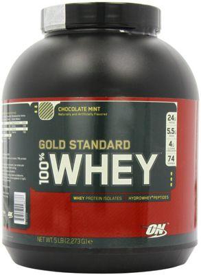Optimum Nutrition 100% Whey Protein 2.27kg - Chocolate Mint