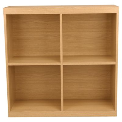 Seattle Open Storage Cube, Oak Effect