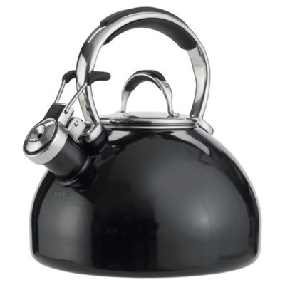Prestige Stove Top Whistling Kettle - Black