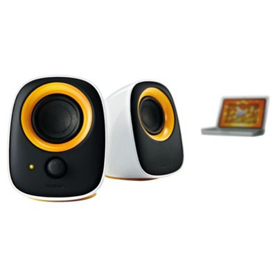 Philips SPA2210/10 Multimedia USB PC/ Laptop Speakers