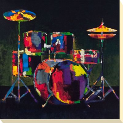 Funky Drums Canvas Picture