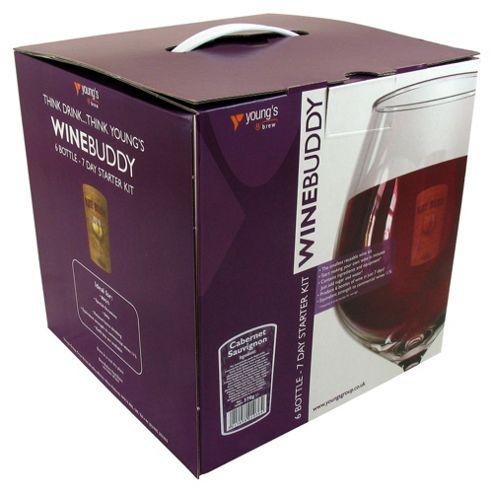 WineBuddy Starter Kit, Cabernet Sauvignon, 6 bottles
