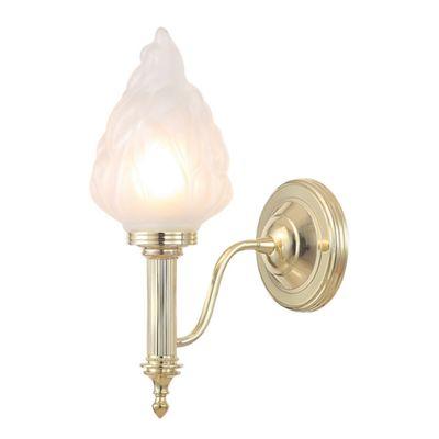 Polished Brass Bathroom 3 - 1 x 3.5W LED G9