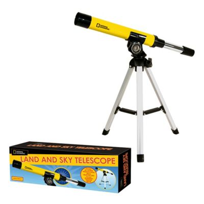 National Geographic Land & Sky Telescope Yellow