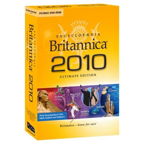 Encyclopaedia Britannica 2010 Ultimate Edition