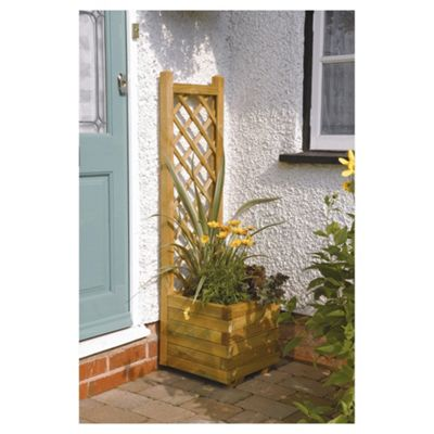 Rowlinson Square Planter with Lattice