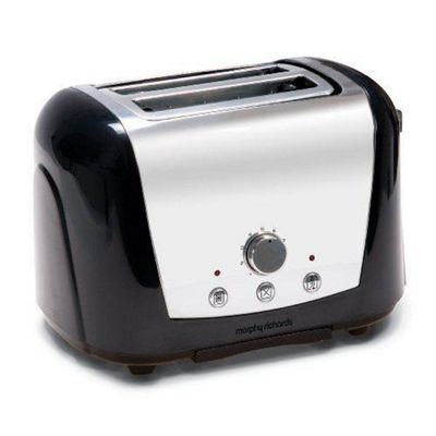 Morphy Richards 44261 2 Slice Toaster - Black