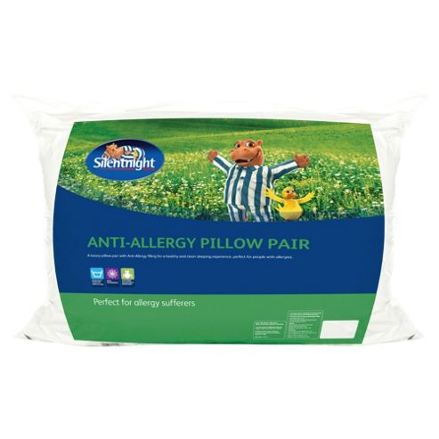 Silentnight Anti-Bacterial Pillow Twinpack