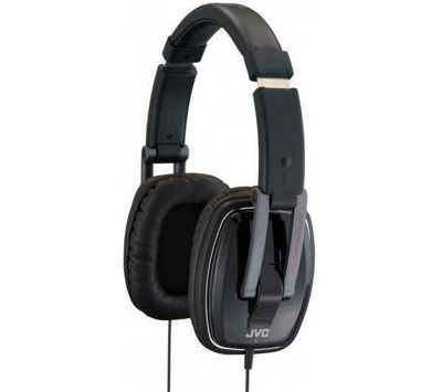JVC Monitor Carbon Integrated Headphones Black