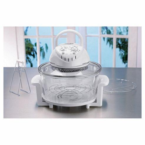 JML 10.5L Halogen 1.3KW Oven, White