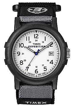 Timex Expedition Web Strap Watch Black