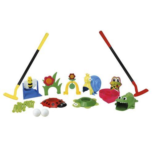 Tesco Crazy Golf Set
