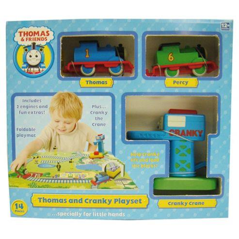 Thomas & Friends Thomas & Cranky Playset
