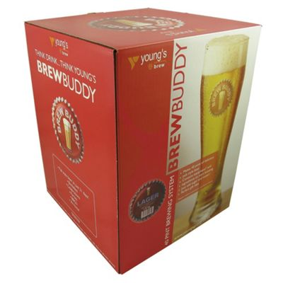 BrewBuddy Starter Kit Lager, 40 pints