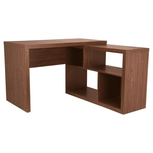 Seattle Corner Desk, Walnut Effect