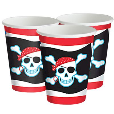 Paper Cups 266ml, Pack of 8