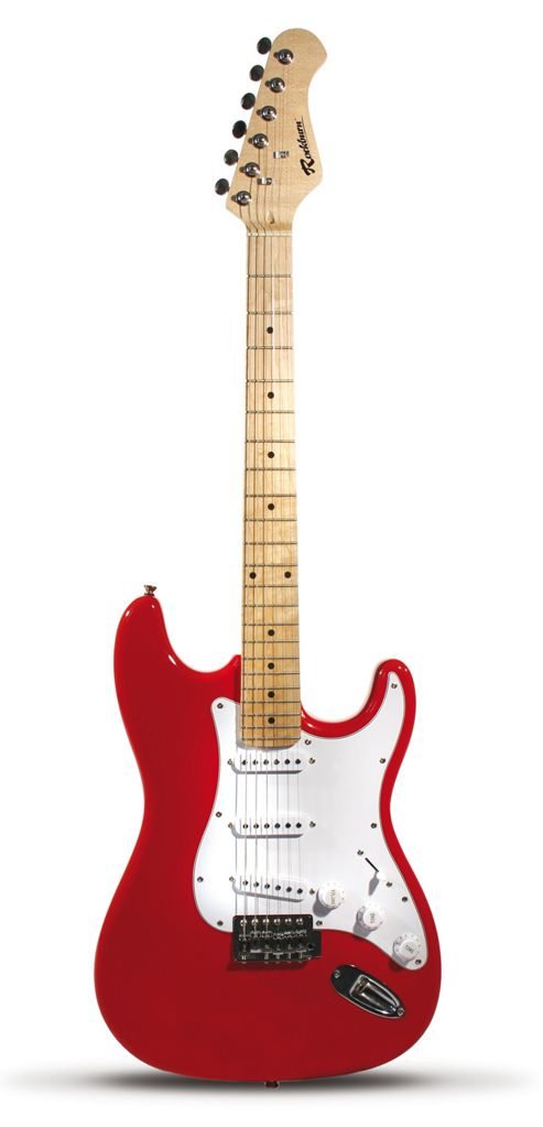 Rockburn Ultimate Electric Guitar Pack - Red