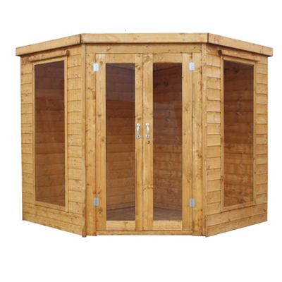 Mercia Corner Wooden Summerhouse, 7x7ft