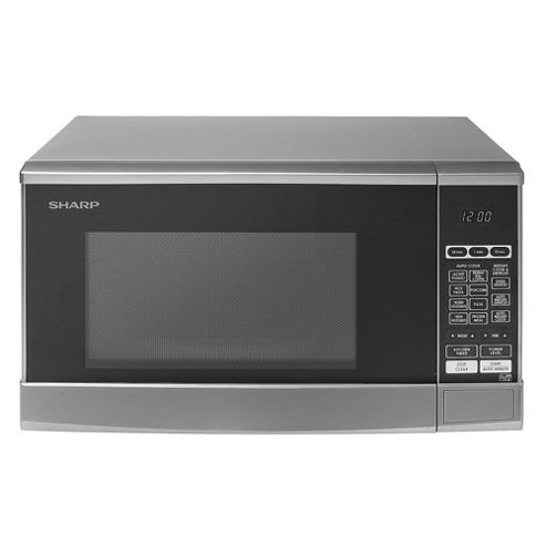 Sharp R270SLM Solo Microwave, 20L - Silver