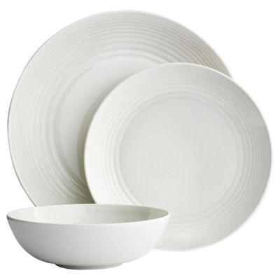 Gordon Ramsay Maze White 12 Piece Dinner Set