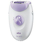 Braun 3170 Silk-épil 3 Womens Leg Hair Epilator - White