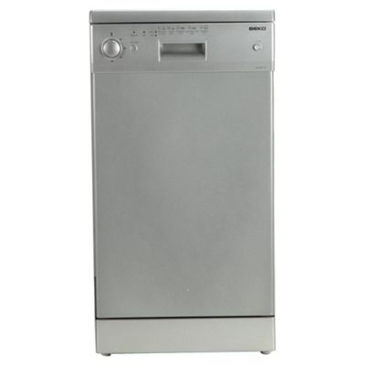 Beko DE2542F Slimline Dishwasher, A Energy Rating. Silver