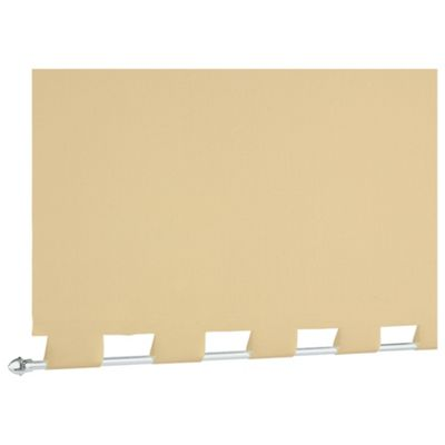 Turret Roller Blind, Cream 60Cm