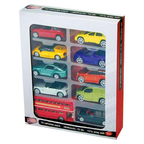 Tesco Die Cast Vehicles 10 Pack